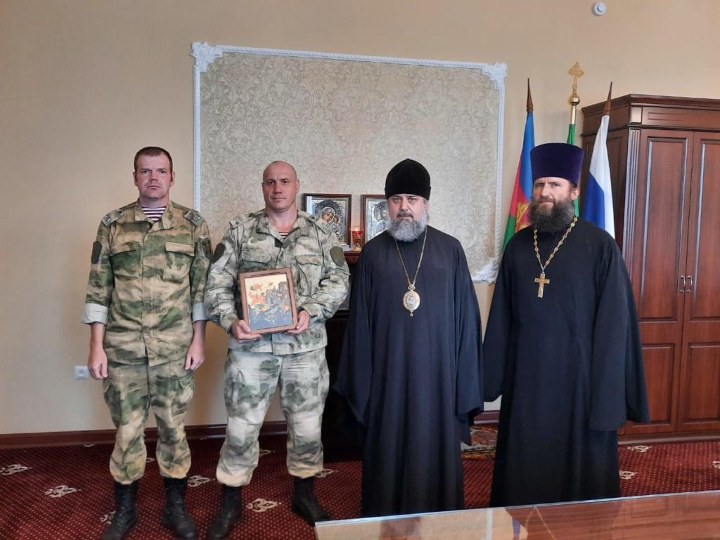 """Подписано Соглашение о сотрудничестве между Армавирской епархией и Отрядом спецназа """"Вятич"""""""